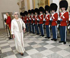 Nytårskur for diplomatiet på Christiansborg Slot